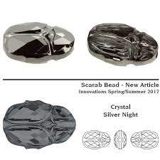 5728 MM 12 Crystal Silver Night-4шт